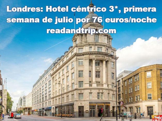 dormir barato centro londres 76 euros
