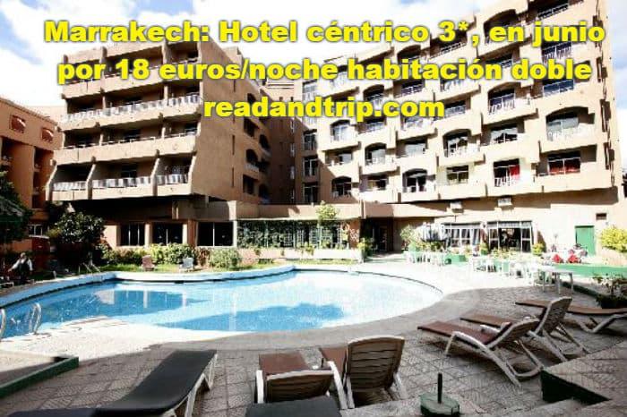 Escapada a Marrakech en un hotel barato