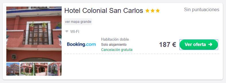Tarifa error en hotel de Cancún