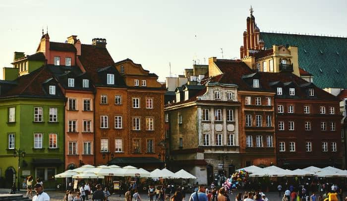 tarifa error de hotel en Varsovia