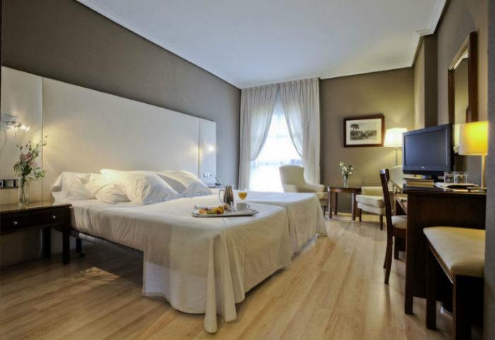 Habitación en el Hotel Barceló V Centenario de Cáceres