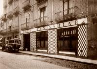 Hotel Peninsular cuando llegó Ava Gardner en 1950
