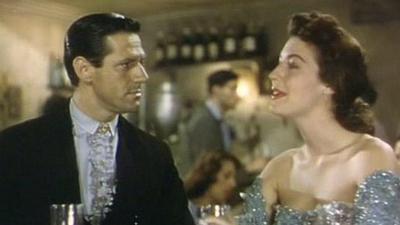Ava Gardner con Mario Cabré en una escena de Pandora