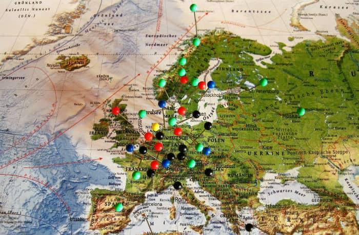 Descuento para volar por Europa