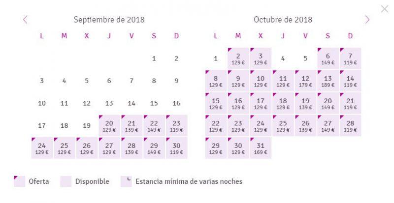 Fechas para la escapada 50 sombras de Grey en Mérida