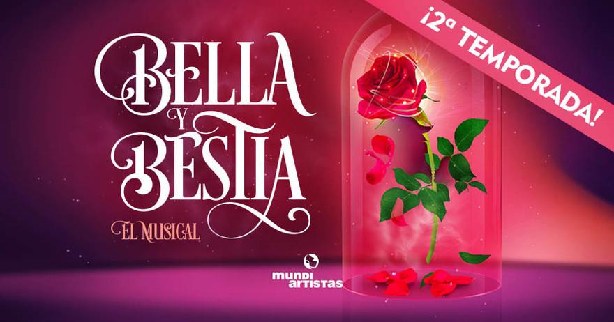Bella y Bestia musical madrid entradas baratas