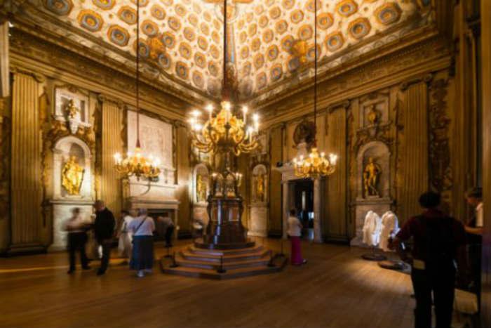 Una de las Cámaras de Estado en el Palacio de Kensington