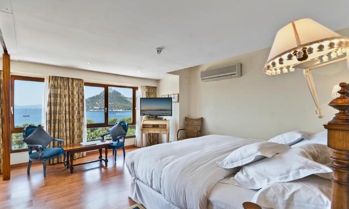 Una habitación en el Hotel Barceló Formentor