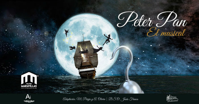 musical Peter Pan Madrid comprar entradas