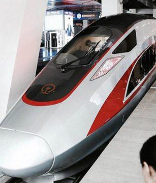 Fin de Año tren bala China