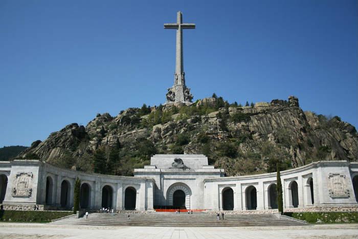 Valle de los Caídos, en la sierra madrileña