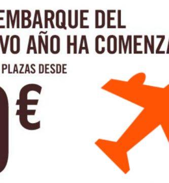 Vuelos baratos Europa enero