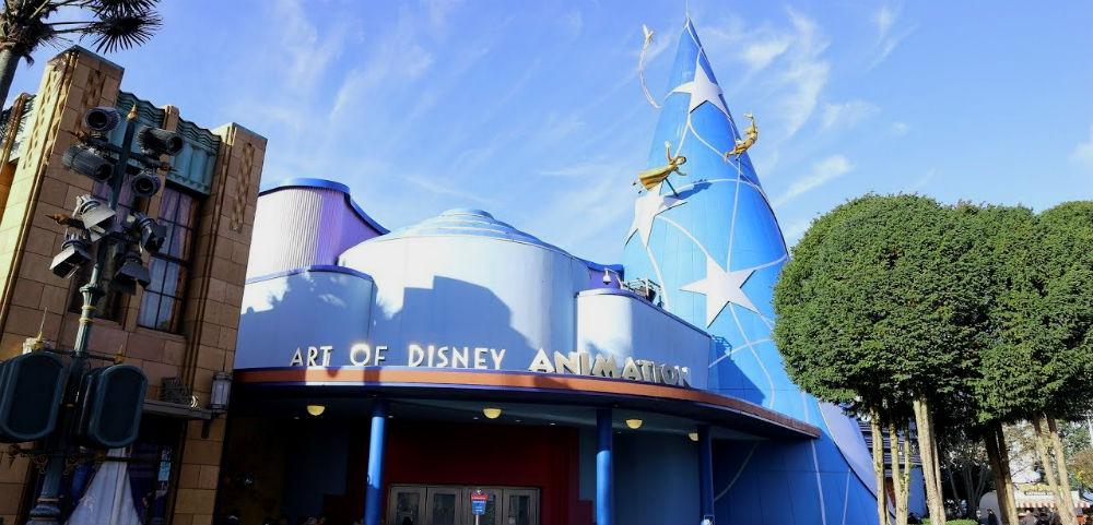 Art of Disney Animation Disneyland Paris