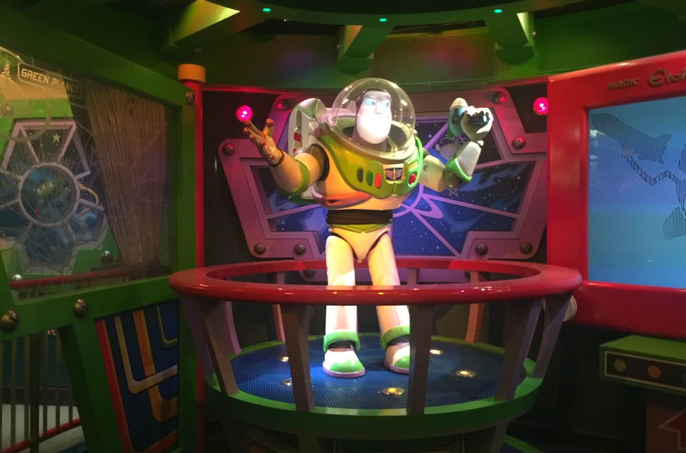 Buzz Lightyear Laser Blast disneyland paris