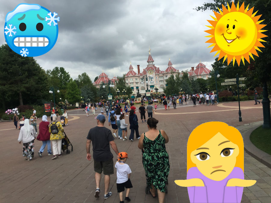 El Tiempo en Disneyland Paris