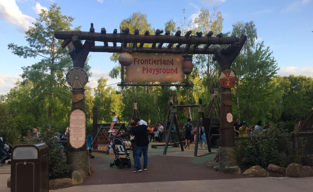 Frontierland Playground Disneyland Paris