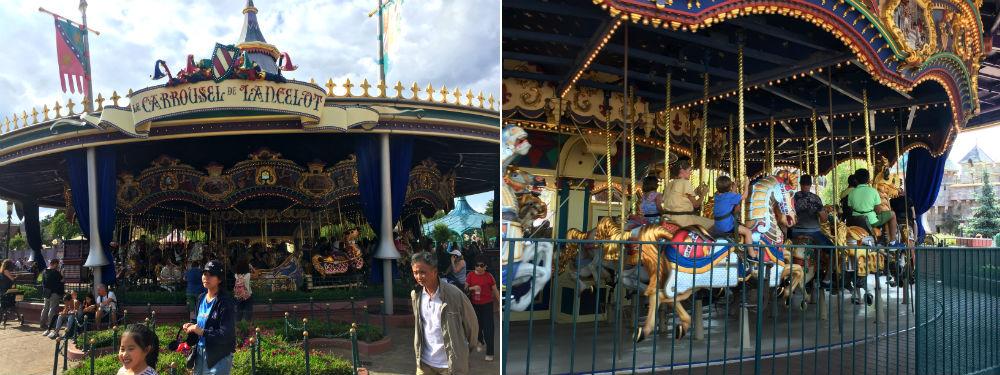 Le Carrousel de Lancelot El Carrusel de Lancelot disneyland paris