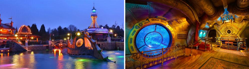 Les Mystères du Nautilus submarino disneyland paris