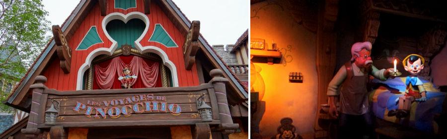 Les Voyages de Pinocchio Pinocho disneyland paris