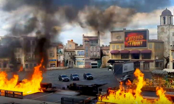 Moteurs Action Stunt Show especialistas Disneyland Paris