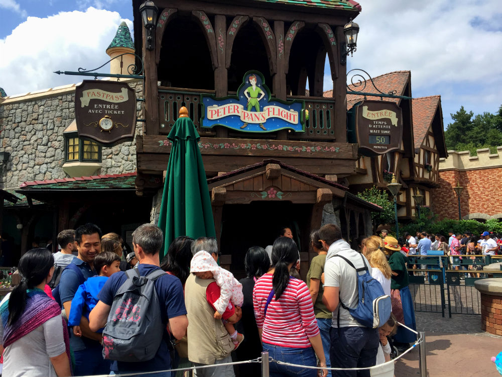 Peter Pan's Flight Disneyland Paris