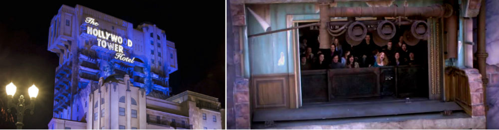 The Twilight Zone Tower of Terror Disneyland París