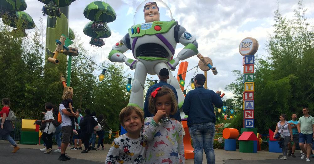 Toy Story Playland París Walt Disney Studios