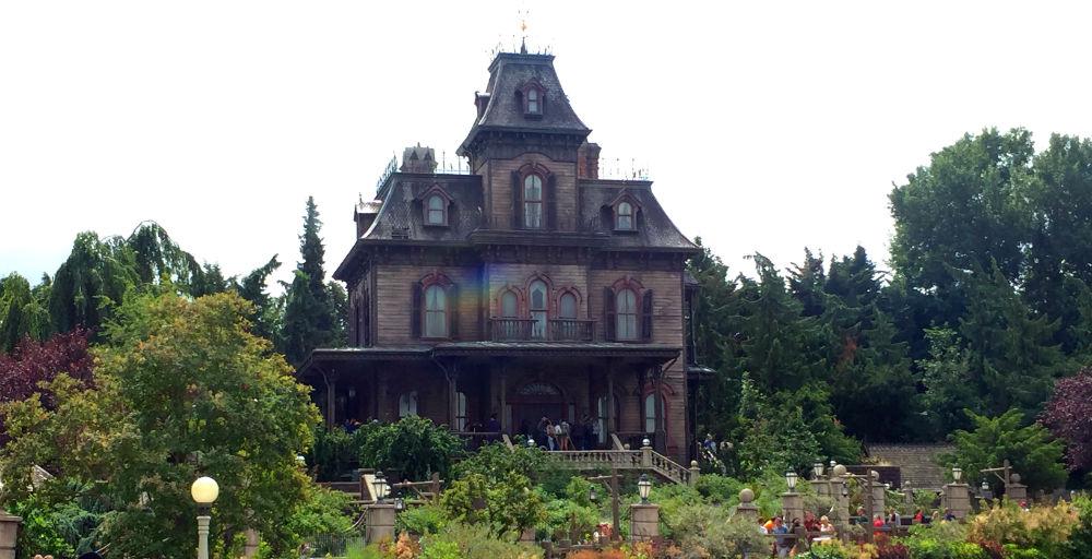 phantom manor casa encantada disneyland paris