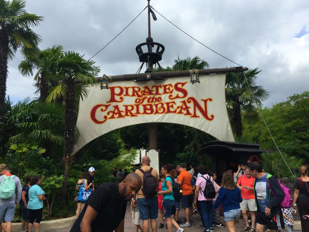 piratas del caribe disneyland paris atraccion