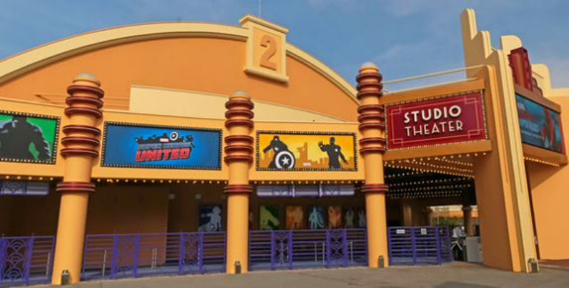 studio theater walt disney studios disneyland paris