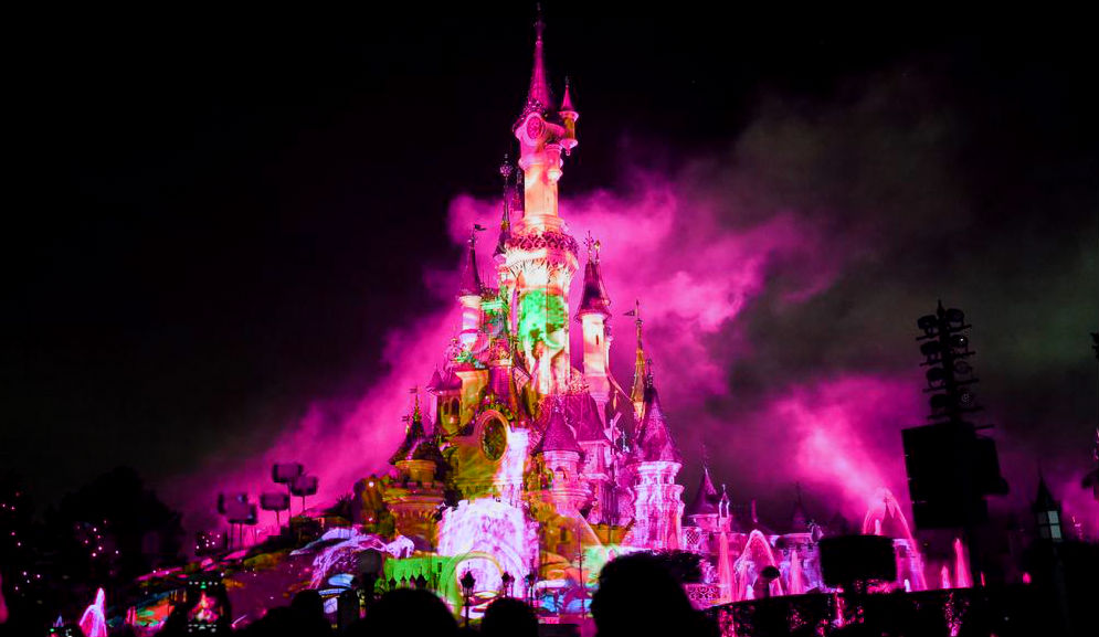 disney illuminations espectaculo nocturno paris