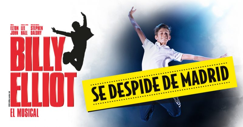 entradas baratas musical Billy Elliot Madrid